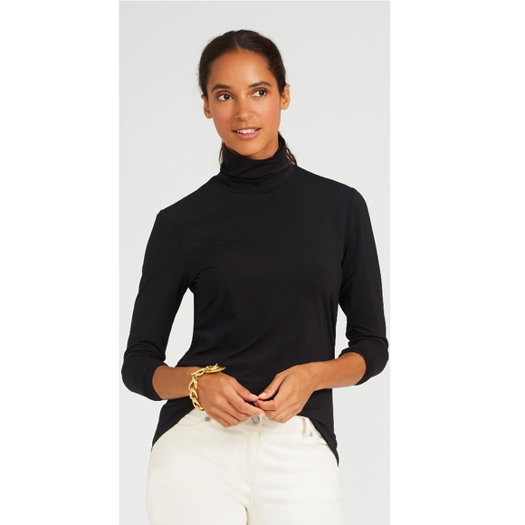 J. McLaughlin Tops - J MCLAUGHLIN catalina mock neck turtleneck